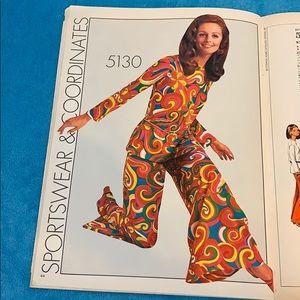 1969 FASHION Butterick Catalog of Hippie Patterns